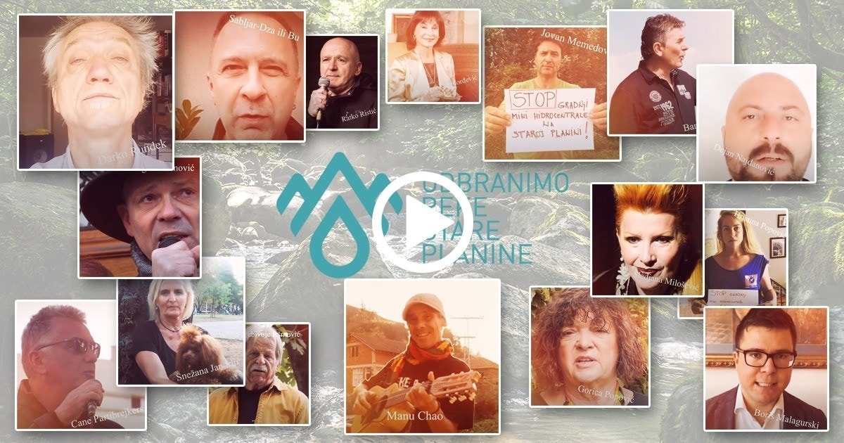 Defend the Rivers of Stara Planina (Balkan Mountains) Movement
