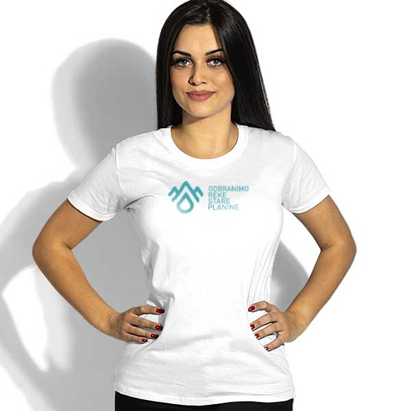 Cotton t-shirt DRSP - Women's