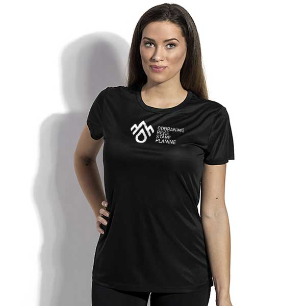 Sports t-shirt DRSP, polyester - Women's