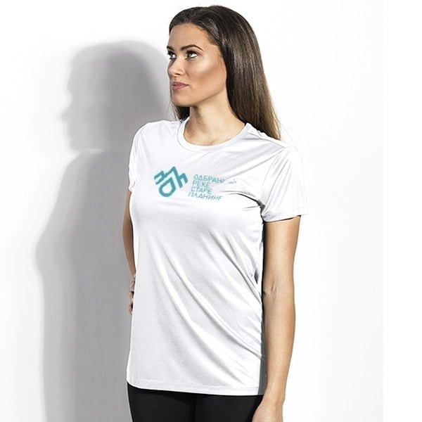Sports t-shirt DRSP, polyester - Women's (Cyrillic)